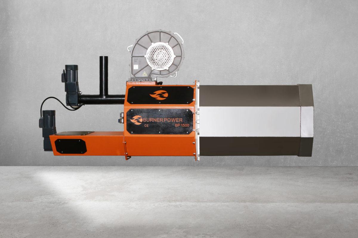 1500 kW Brülör
