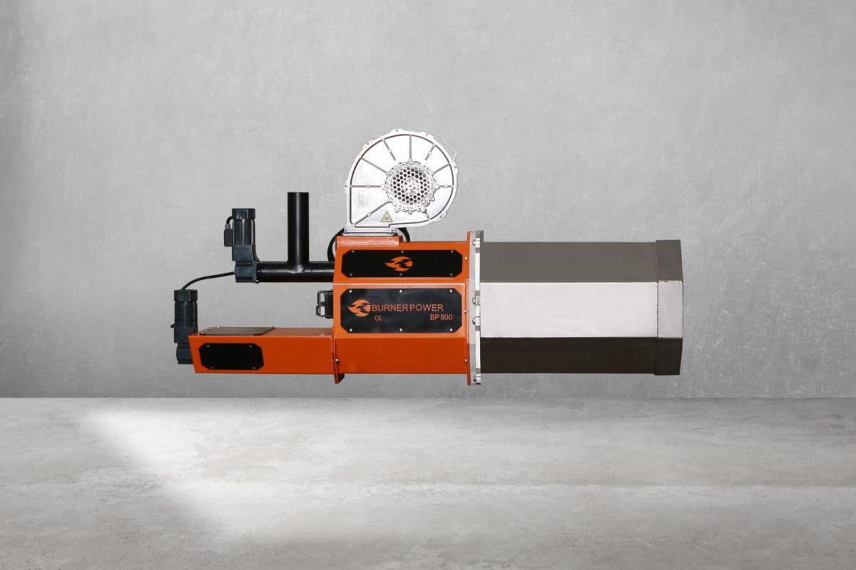 800 kW Brülör